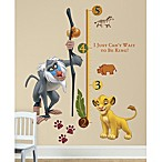 RoomMates The Lion King Peel & Stick Growth Chart