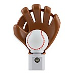 Baseball Fan's Cool-Touch LED Night Light with Auto On/Off