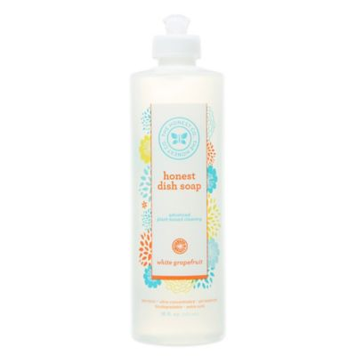 Honest 16-Ounce Dish Soap in Grapefruit Scent