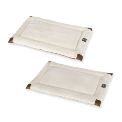 Tall Tails Velboa Small Pet Bed in Sage