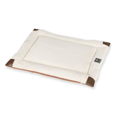 Tall Tails Velboa Small Pet Bed in Brown