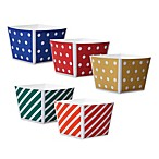 Welcome Home Brands Oven-Safe Paper Cube Cupcake Pans (Set of 12)