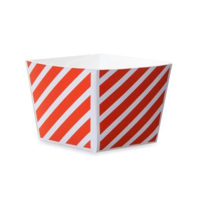 Cube Paper Baking Cups in Orange (Set of 12)