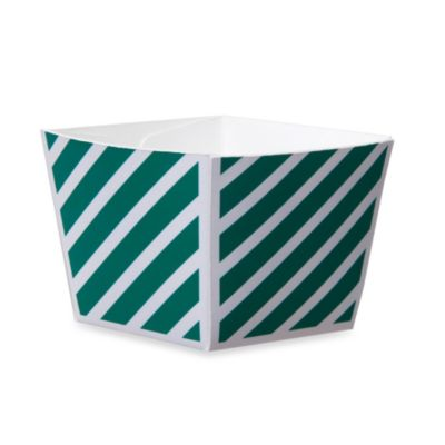 Cube Paper Baking Cups in Green (Set of 12)