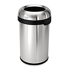 Recycling Trash Cans For Kitchen Plastic Stainless