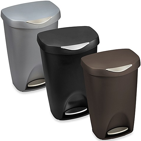 Umbra Brim 13-Gallon Step Waste Can