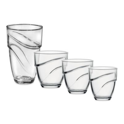Duralex 5-5/8-Ounce Wave Tumbler (Set of 6)