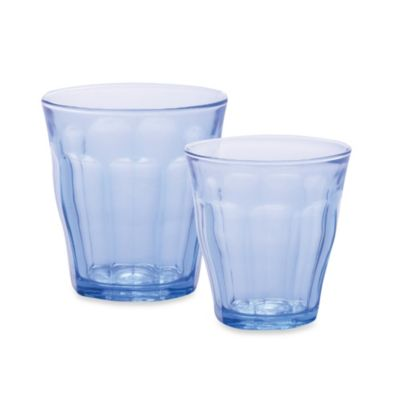 Duralex 7-3/4-Ounce Picardie Tumbler in Marine Blue (Set of 6)