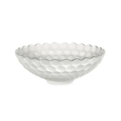 Fifth Avenue Crystal 12-Inch Frosted Ariana Crystal Bowl