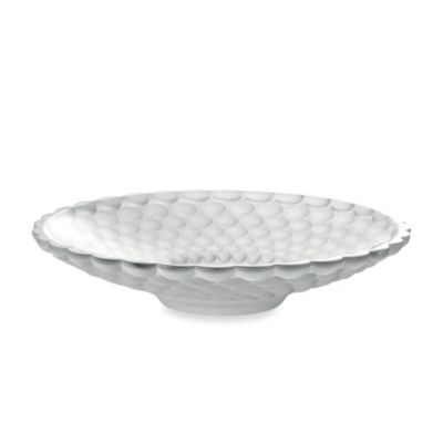 Fifth Avenue Crystal 14.5-Inch Frosted Ariana Centerpiece Bowl