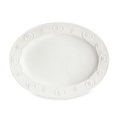 American Atelier Bianca Braid Oval Platter