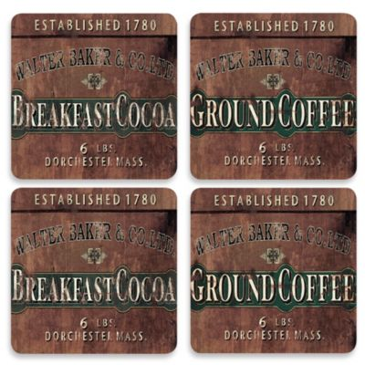 Cork-Backed Coasters