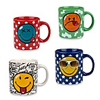 Konitz Smiley Mugs (Set of 4)