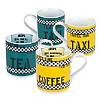 Konitz Tea and Coffee Time Mugs (Set of 4)