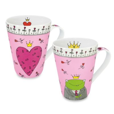 Konitz Prince and Princess of My Heart Mug (Set of 2)