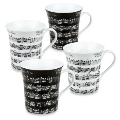 Konitz Vivaldi Libretto Mugs (Set of 4)