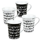 Konitz Vivaldi Libretto Mugs (Set of 4)