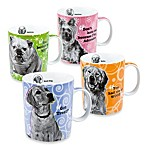 Movie Dog Mugs (Set of 4)