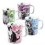 Konitz Movie Cat Mugs (Set of 4)