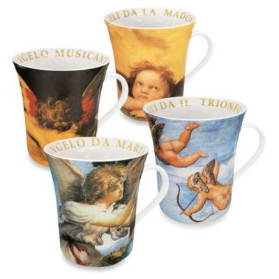 Konitz Angels Mugs (Set of 4)