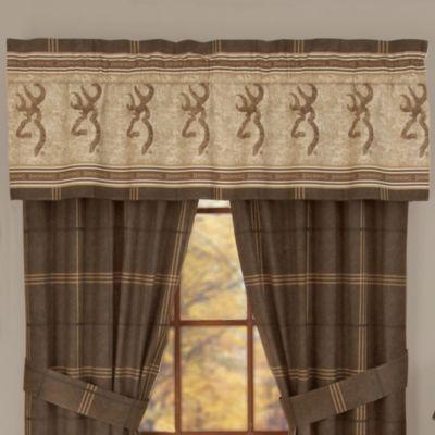 Browning Buckmark Window Valance