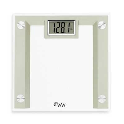 Conair™ Weight Watchers® Glass Digital Weight Scale