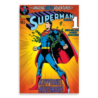 "Superman ""Breaking Chains"" Wall Décor Plaque"