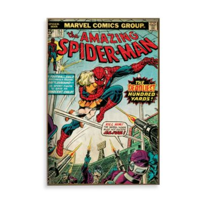 "Spider-Man ""Deadliest Hundred Yards"" Wall Décor Plaque"