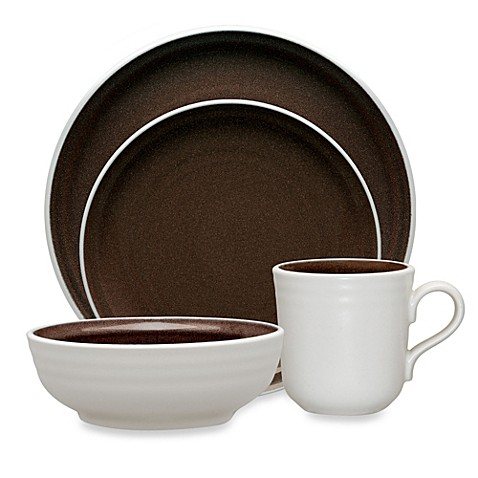Noritake® Colorvara 4-Piece Place Setting in Chocolate