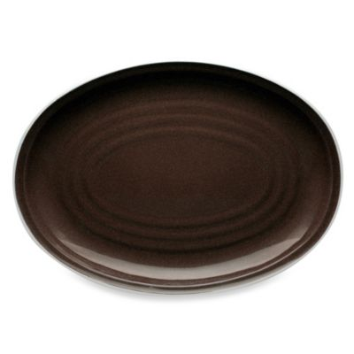 Noritake® Colorvara 16-Inch Oval Platter in Chocolate