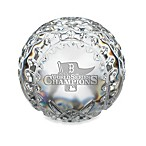 Waterford 2013 World Series Crystal Baseball