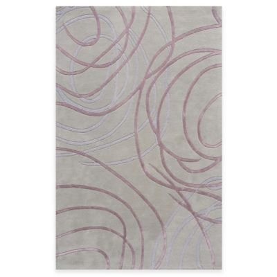 Rugs America Millennium 1-Foot 6-Inch x 8-Foot Runner Rug in Victorian Mauve