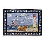 Coastal Boat Tapestry Placemat