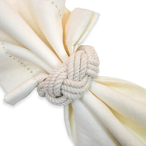 Braided Nautical Rope Napkin Ring Www Bedbathandbeyond Com