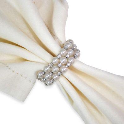 Pearl Spiral Napkin Ring