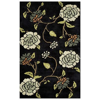 Rugs America Pacific Black Forest 7-Foot x 9-Foot Rug