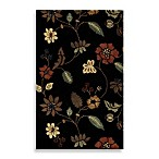 Rugs America Pacific Rug in Tropical Black