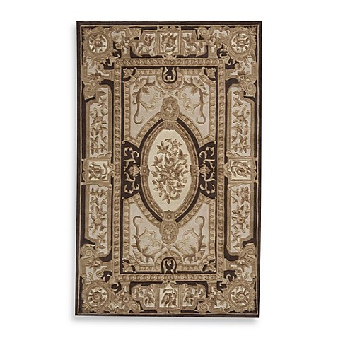 Rugs America Renaissance Rug in Gold/Brown