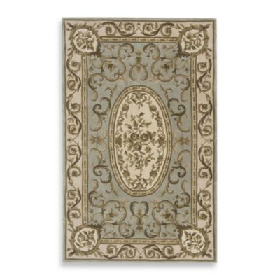 Rugs America Renaissance Rug in Mint Green