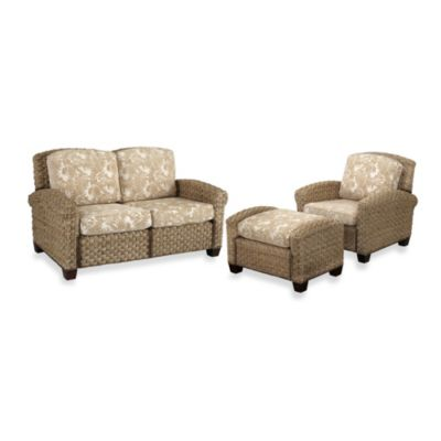 Home Styles Cabana Banana II Chair, Ottoman, and Loveseat