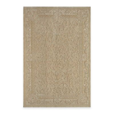 Rugs America Majestic Vines 2-Foot 3-Inch x 7-Foot 10-Inch Runner in Cream