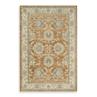 Rugs America Majestic Ushak 2-Foot x 2-Foot 11-Inch Rug in Gold