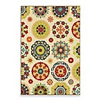 Orian Veranda Collection Hubbard Rug Collection in White