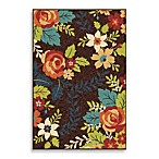 Orian Veranda Collection Rosey Bug Rug Collection in Brown