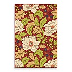 Orian Veranda Collection Tillis Rug Collection in Brick Red