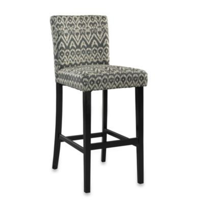 Linon Home 24-Inch Morocco Stool in Driftwood