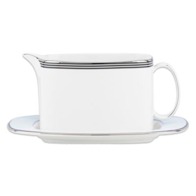 kate spade new york Parker Place Gravy Boat with Stand