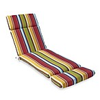 Chaise Cushion in Bright Stripe