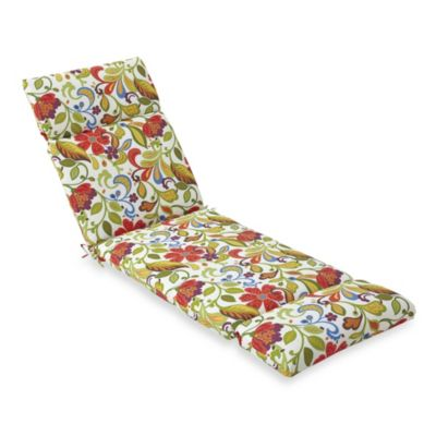 Chaise Cushion in Wildwood