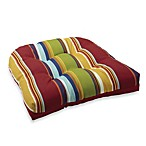 Outdoor Bridgeport Stripe Single U-Shaped Cushion